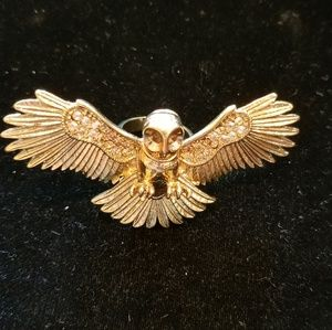 Wildfox Gold Owl Ring